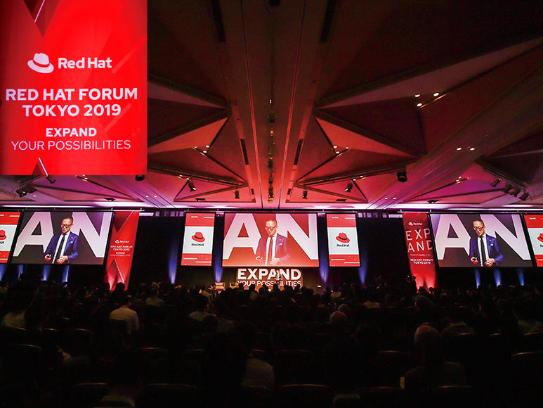 Red Hat Forum Tokyo 2019 リポート! テーマは「Expand Your Possibilities」